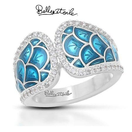 """""""Marina"""" Ring in Sterling Silver by Belle Etoile"""