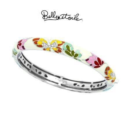 """""""Butterfly Kisses"""" Bracelet in Sterling Silver by Belle Etoile"""