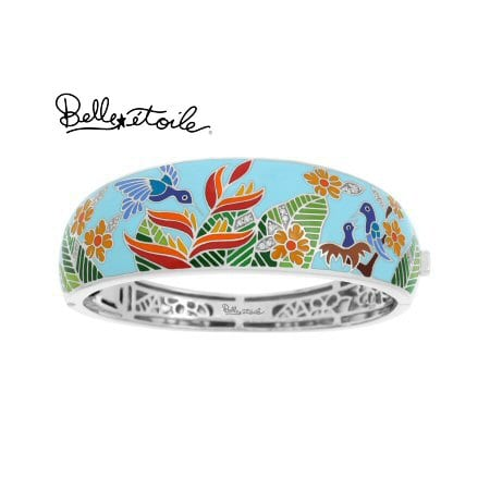 """""""Hummingbird"""" Bracelet in Sterling Silver by Belle Etoile"""