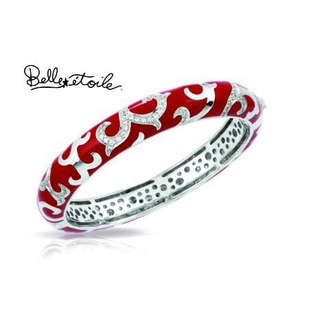 """""""Royale"""" Bracelet in Sterling Silver by Belle Etoile"""