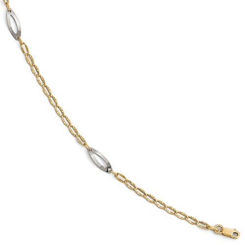 Two Tone Anklet
