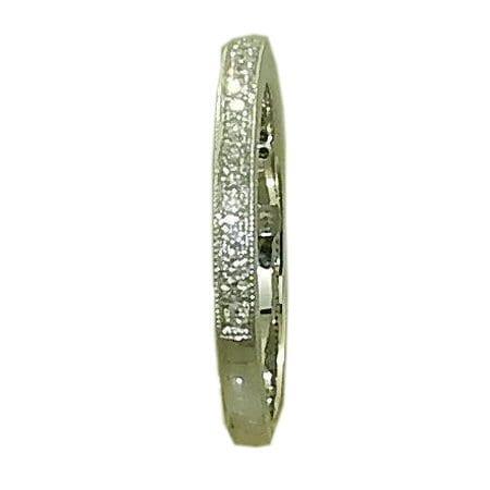 0.20 Cttw. Diamond Band in 14 Karat White Gold