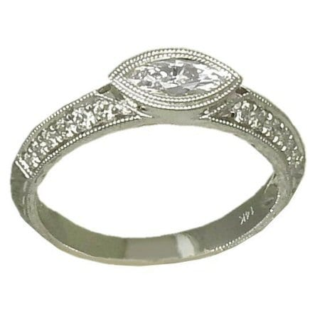 0.55 Cttw. Diamond Ring