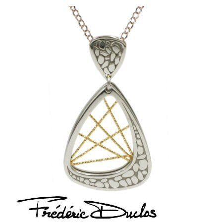 """Milky Way"" Necklace in Sterling Silver by Fredric Duclos"