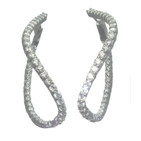 5.17 Cttw. Diamond Earrings