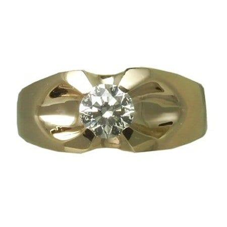 Diamond Belcher Ring