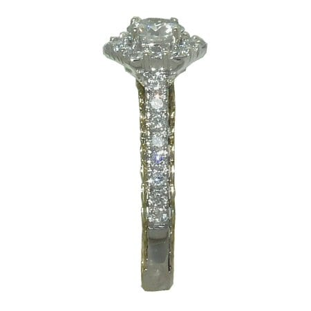 1.1 cttw. Diamond Engagement Ring