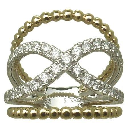 0.69 cttw. Diamond Ring