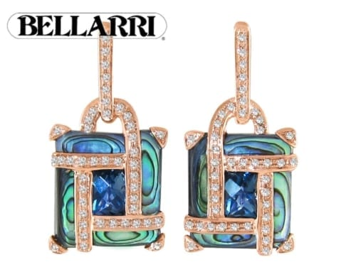 Bellarri Blue Topaz earrings
