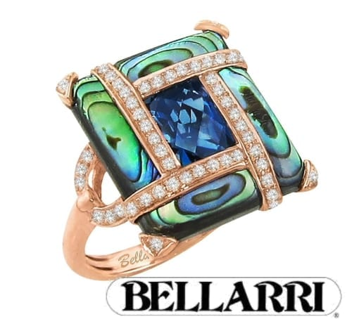 Bellarri multi-gem ring