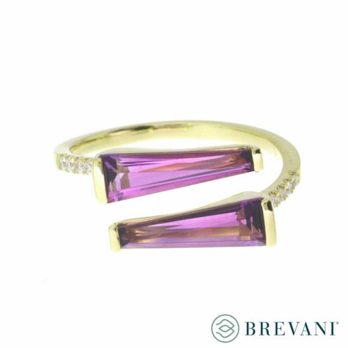 Amethyst ring front