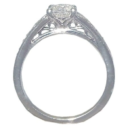 Diamond Engagement Ring side