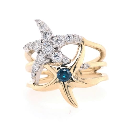Starfish ring front