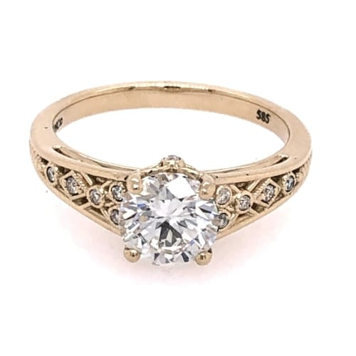 Engagement ring front