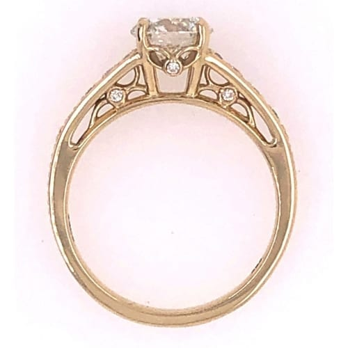 Engagement ring side