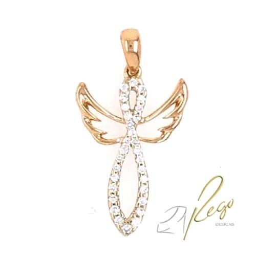 Diamond Angel Necklace