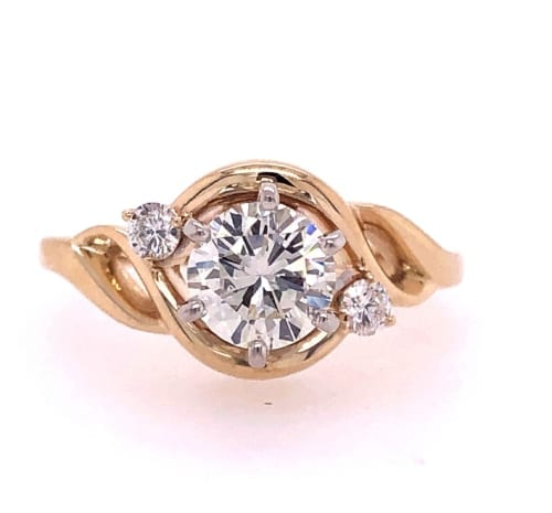 Diamond Engagement ring front