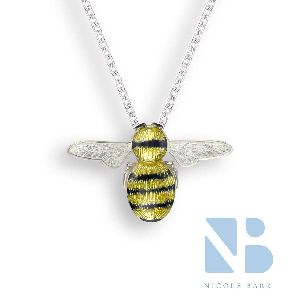 Bumble bee pendant