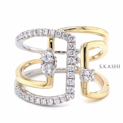 fun diamond ring