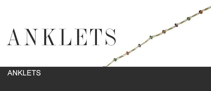 Anklets by Gold In Art Jewelers
