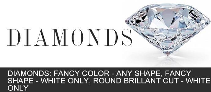 Diamonds from Gold In Art Jewelers