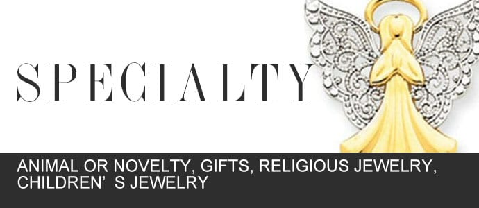 Specialty Jewelry at Gold in Art Jewelers: Animal or Novelty, Gifts, Religious Jewelry, Children's Jewelry